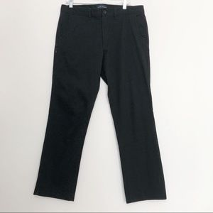 Five Four Black Relaxed Chinos